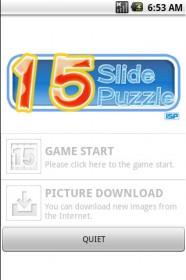 slide puzzle title