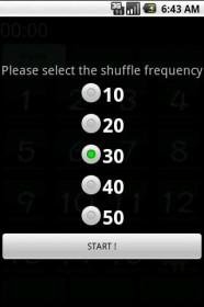 slide puzzle select shuffle